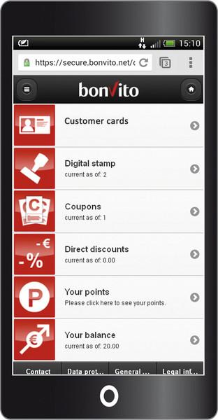 bonvito Customer Card